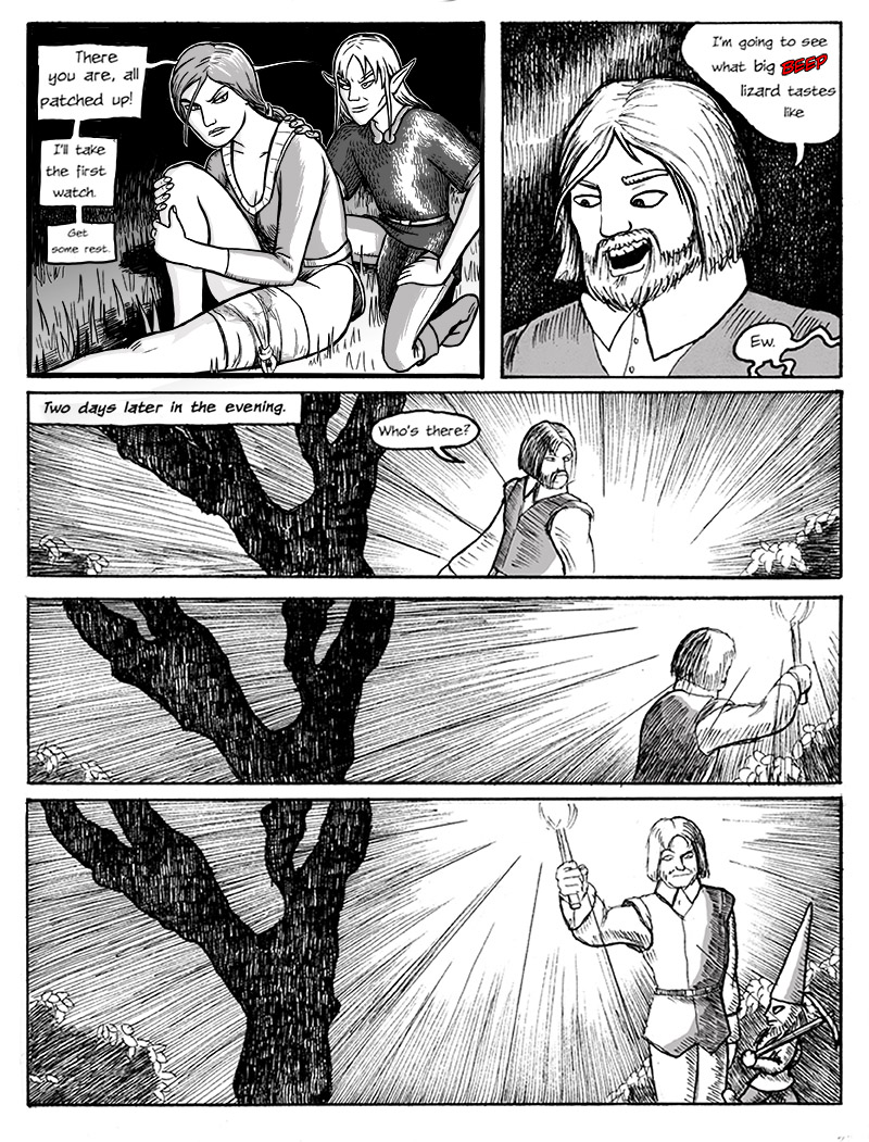Page 0023 – Roll for Wandering Encounter