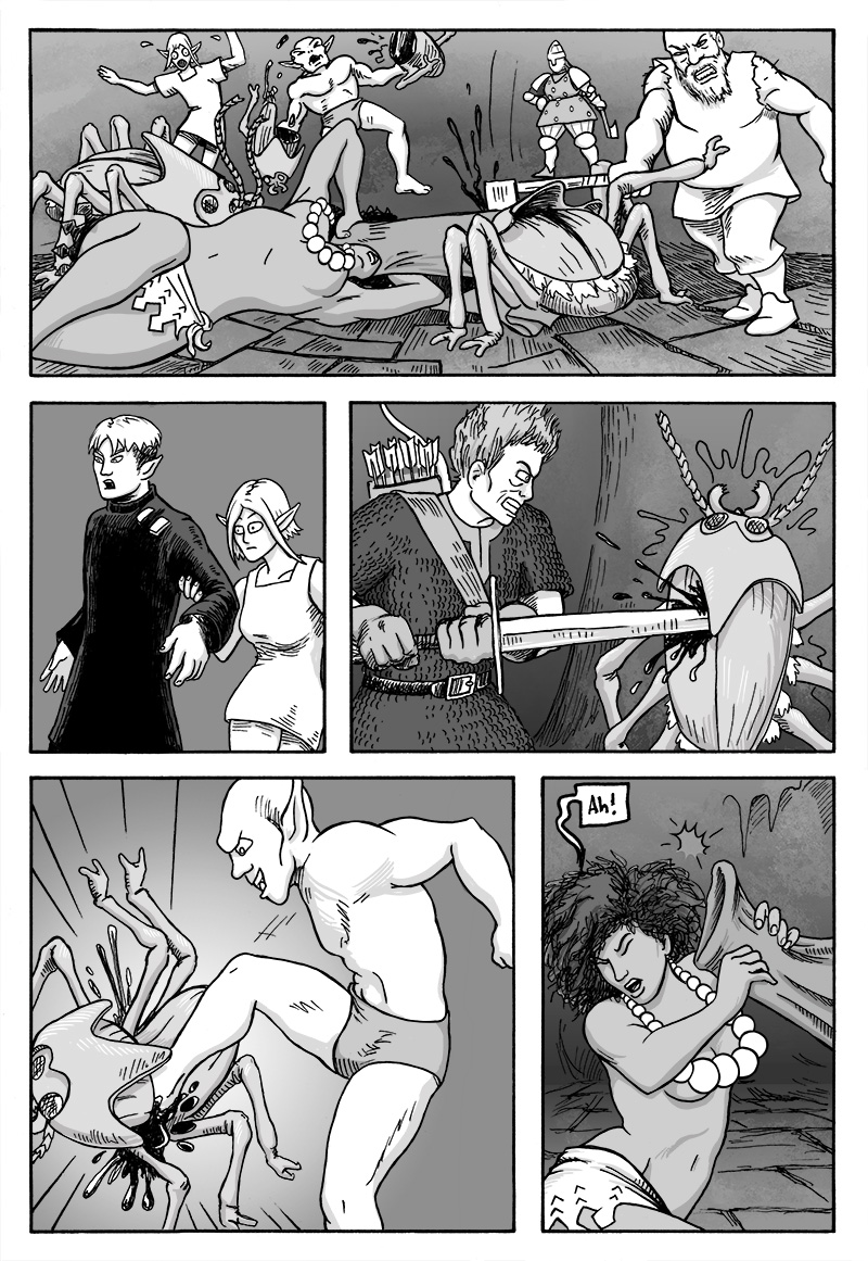 Page 338 – Brawl with the Fire Beetles