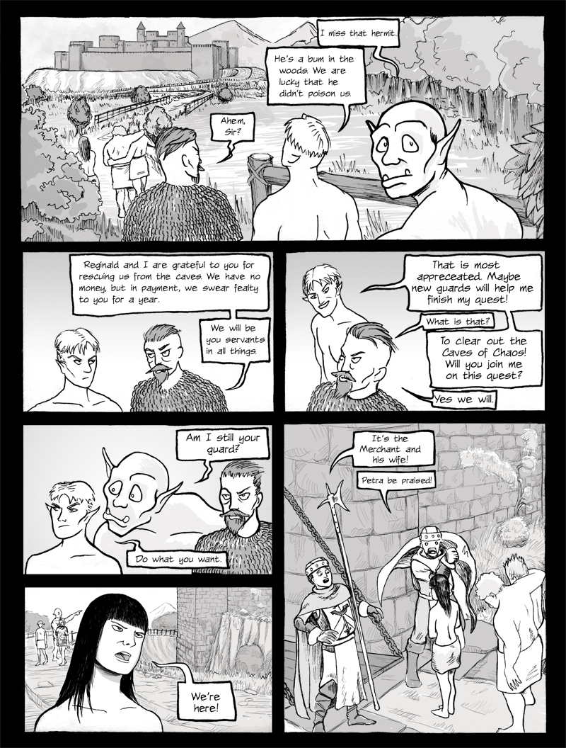 Page 0142 – They Arrive at the Keep