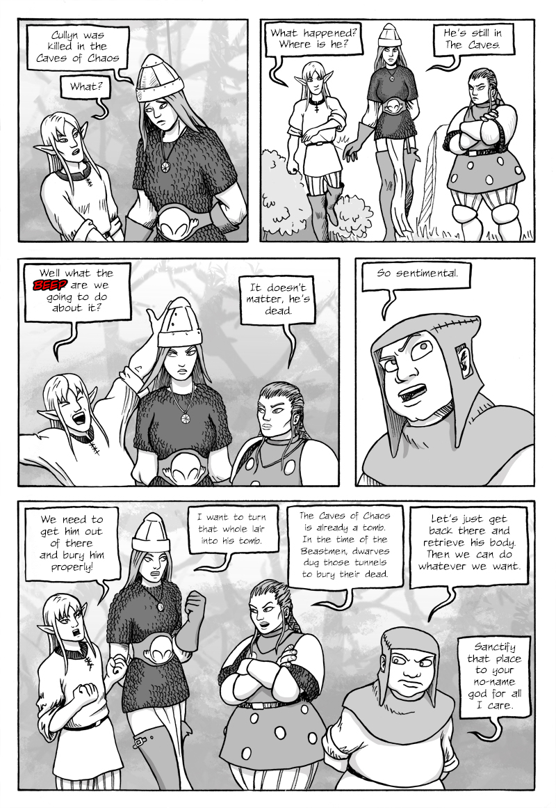 Page 356 – The Party formulates their next step