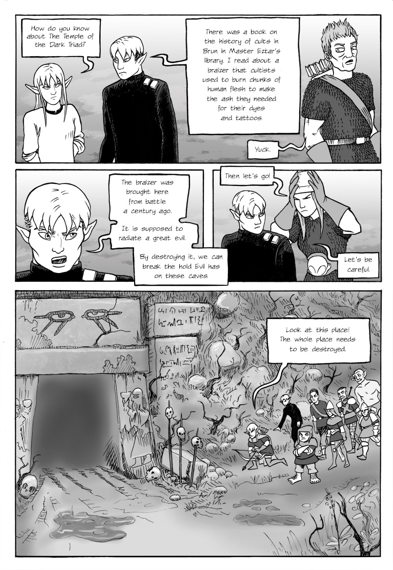 Page 372 – The party approaches the Temple